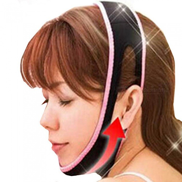 Buy Face Lift Up Belt, Sleeping Face-Lift Mask, Massage Slimming Face Shaper, Relaxation Facial Slimming Bandage with Litecoins with Free Shipping on Gipsybee.com