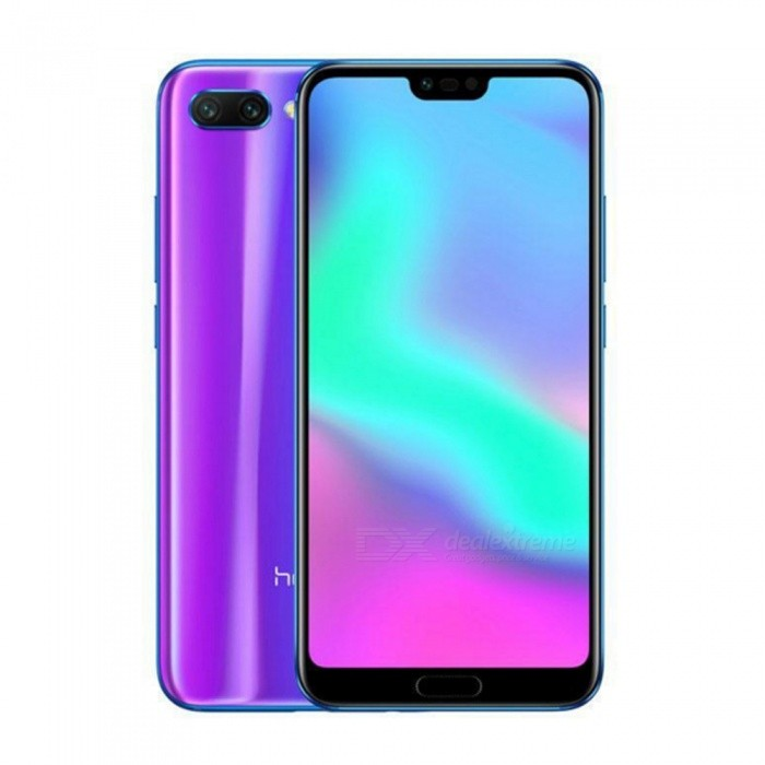 Honor 10 Android 8.1 4G 5.84 Phone with 4GB RAM, 128GB ROM, 3400mAh Large Battery