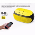 Subwoofer Bluetooth Speaker Stereo Wireless Portable Mini Speakers Support TF Card AUX Input With Microphone Awei Y200 S Yellow/Speaker