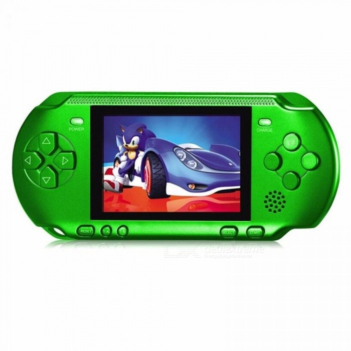 Image of Handheld Game Console 3.2 Inch Game Machine RS-15 Built 318 Games Classic Game PSP Support AV Double Player Random Color