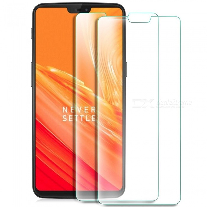 2pcs ASLING Tempered Glass Screen Film for OnePlus 6