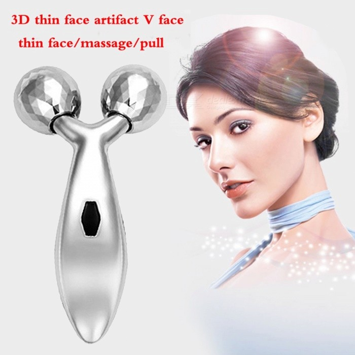 Health Care 3D Massage Ball Face Roller Machine V Face Massager Thin Face Instrument To Double Chin Lean Muscle