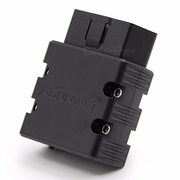 Konnwei KW902 ELM327 V1 5 Bluetooth / Wifi OBD2 Diagnostic Car Scanner Tool  For IOS IPhone Android Phone Black