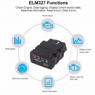 Konnwei KW902 ELM327 V1.5 Bluetooth / Wifi OBD2 Diagnostic Car Scanner Tool For IOS IPhone Android Phone Black