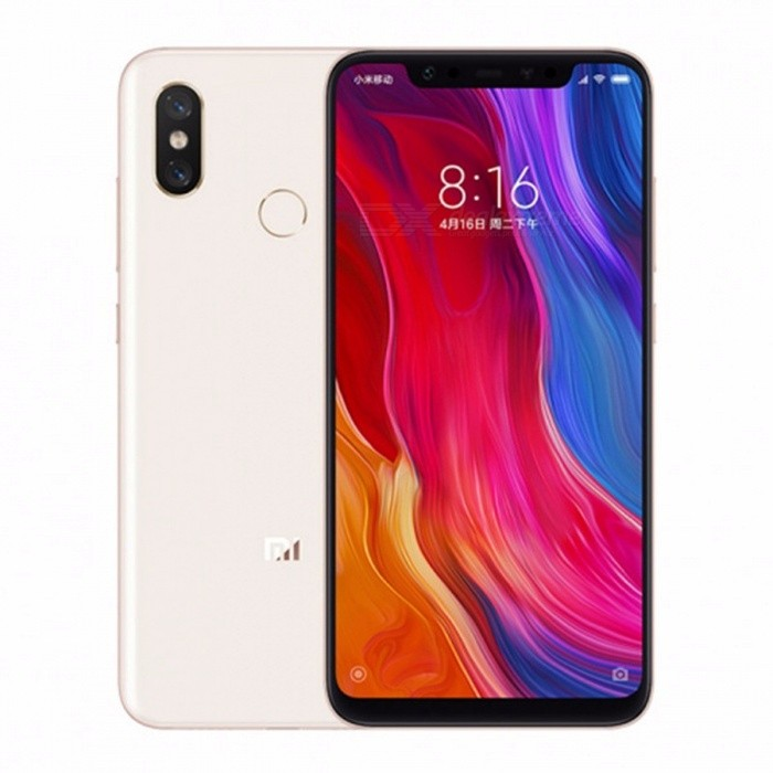 Xiaomi Mi8 Mi 8 6GB RAM 128GB ROM Snapdragon 845 6.21 Inch 2248x1080 Dual Rear Camera 12MP Front Camera 20MP QC4 3400mAh