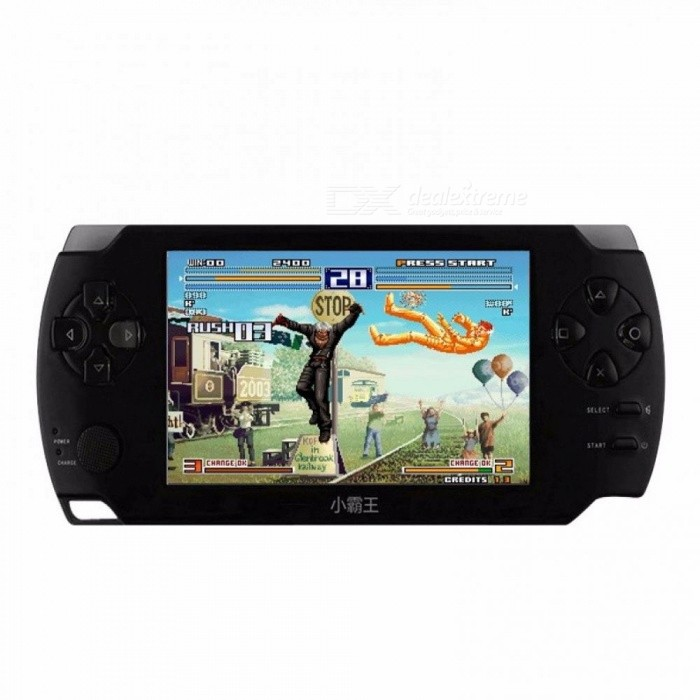 PSP Video Game Console 4.3 Inch Touch Screen Game Player Controllers With 4GB Memory Black Black