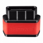 Konnwei KW903 ELM327 WIFI OBD2 Auto Diagnostic Tool ODB II Automotive Scanner For  IOS IPhone Android Phone Black