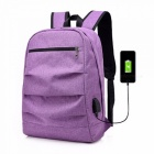 2018-New-Casual-Double-Socket-Charging-Headset-Multi-functional-Mens-Backpack-Black19-inches