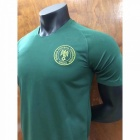 Men's Short Sleeve T-Shirt Nigeria Team The Same Paragraph Jersey Army Green/XL