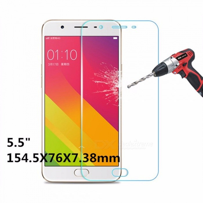 Tempered Glass For OPPO F1S Mobile Phone Screen Protector Protective Cover Explosion-proof HD Protection Transparent