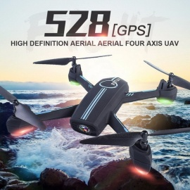 JXD 528 GPS Wifi RC Quadcopter Remote Control Toys For Kids Rc GPS RC Drone Control By Phone Black
