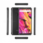 "Vernee V2 Pro Global Bands MT6763 IP68 Android 8.1 5.99"" 18:9 Full Screen Smartphone with 6GB RAM, 64GB ROM - Black"
