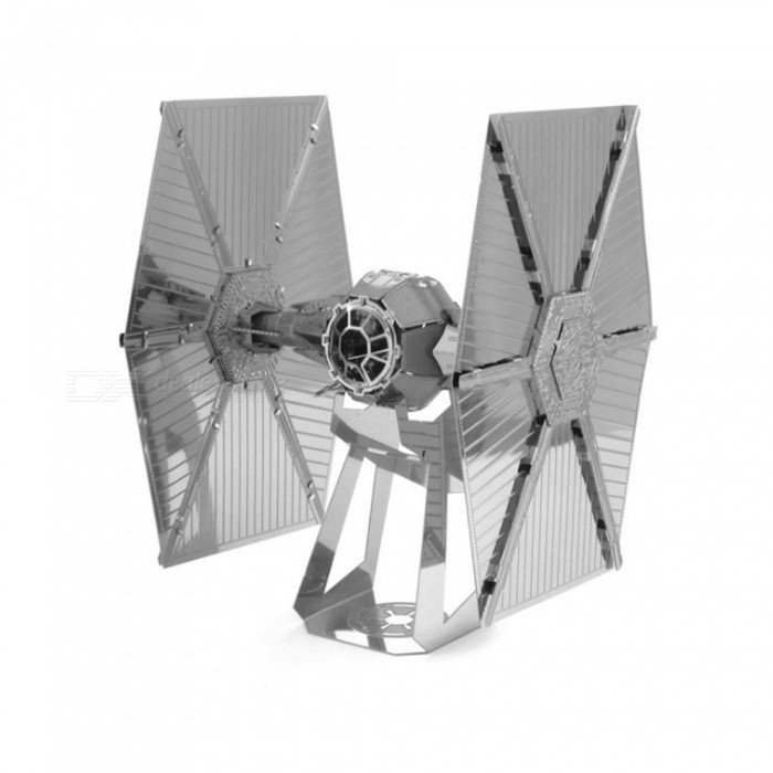 XMD DIY 3D Metal Model Kits Puzzle Star Wars advanced titanium fighter Assembled Educational Toy - Silver for sale in Bitcoin, Litecoin, Ethereum, Bitcoin Cash with the best price and Free Shipping on Gipsybee.com