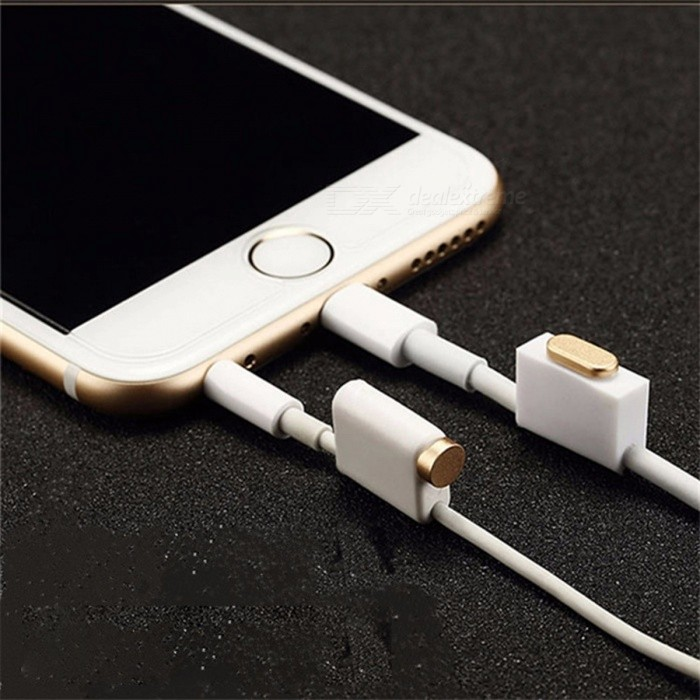 Buy 4-in-1 Dust Plug Aluminum Alloy Charging Port Earphone Jack Set For IPHONE 6 PLUS 6S PLUS Phone Silver with Litecoins with Free Shipping on Gipsybee.com