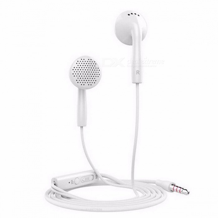 Langsdom IN2 Flat Head Earphone 3.5mm Earbuds Super Bass Headsets With Microphone For IPHONE Xiaomi Samsung Phone