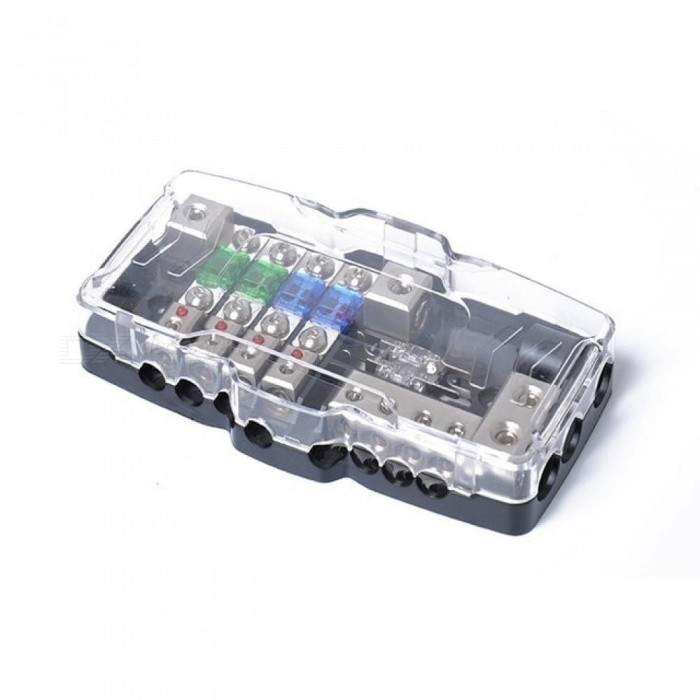 Multi-functional LED Car Audio Stereo Mini ANL Fuse Box with 4 Way Fuse Block 30A 60A 80Amp and Battery Distribution ANL Fuse Box for sale in Bitcoin, Litecoin, Ethereum, Bitcoin Cash with the best price and Free Shipping on Gipsybee.com