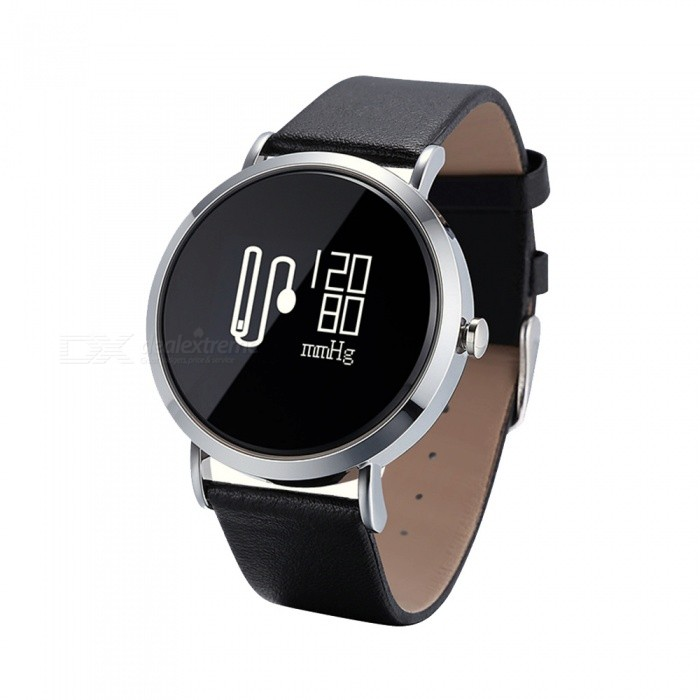 CV08 IP67 Waterproof Smart Bracelet w/ Round Touch Screen, Heart Rate Monitor, Sleep Monitor, Music Playback