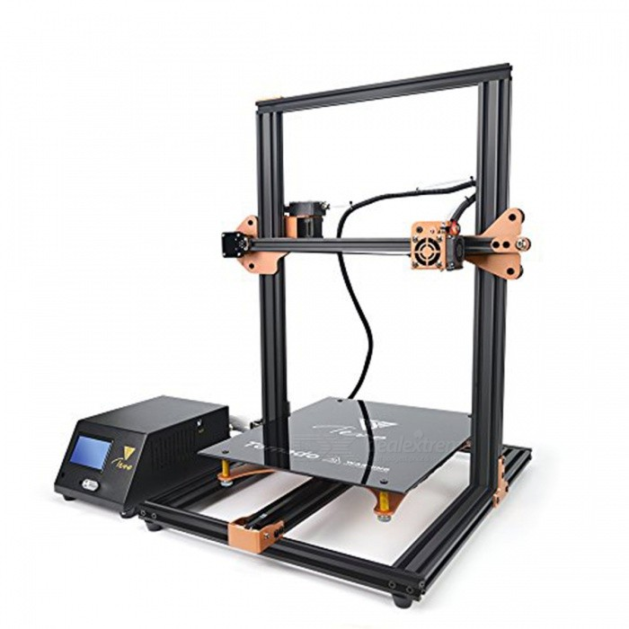 Buy TEVO Tornado Fully Assembled 3D Printer 3D Printing 300*300*400mm Large Printing Area 3D Printer Kit with Litecoins with Free Shipping on Gipsybee.com