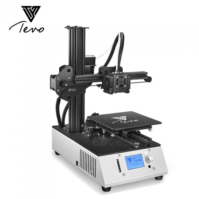 Buy Tevo Michelangelo 3D Printer Fully Assembled Metal Titan extrusion 3D Printer Kit 1.75mm PLA high speed printing with Litecoins with Free Shipping on Gipsybee.com