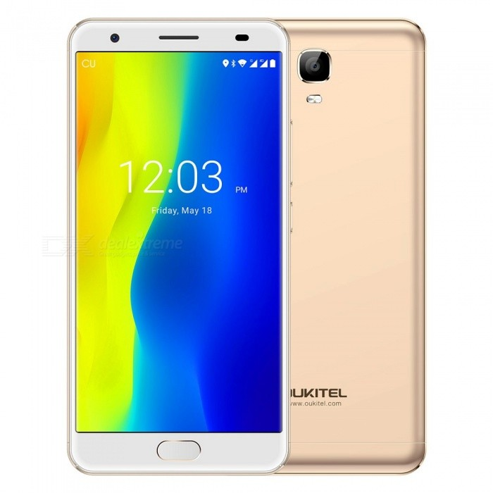 "OUKITEL K6000 Plus 5.5"" Octa-core 4G Phone w/ 4GB RAM 64GB ROM - Gold"