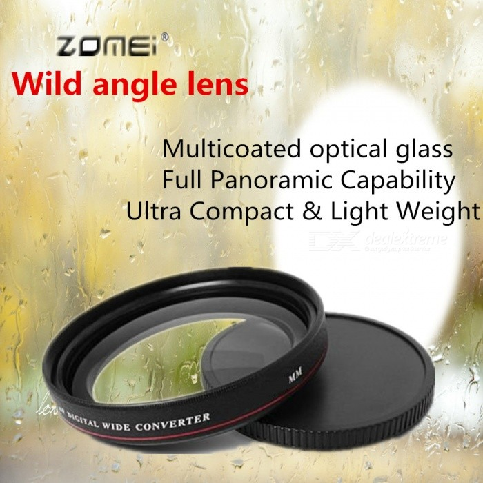 ZOMEI Anti-Lock ABS Ultra Slim Filter HD MCUV Lens Filter 82mm for Canon Nikon