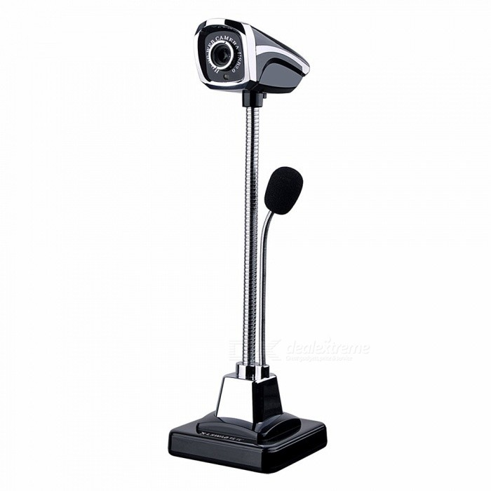 Drive-Free USB HD Camera + Microphone for PC / Notebook