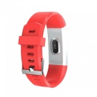 VRrobot 115Plus IP67 Waterproof 0.96 inch Color Screen Smart Bracelet Fitness Tracker - Red