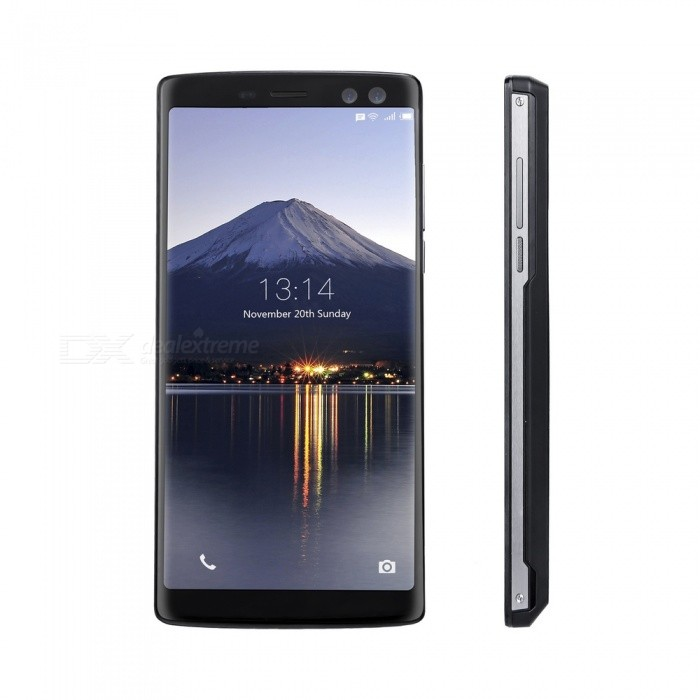 "DOOGEE BL12000 6.0"" Full Screen IPS FHD+ Android 7.0 4G Phone w/ 4GB RAM, 32GB ROM - Black (EU Plug)"