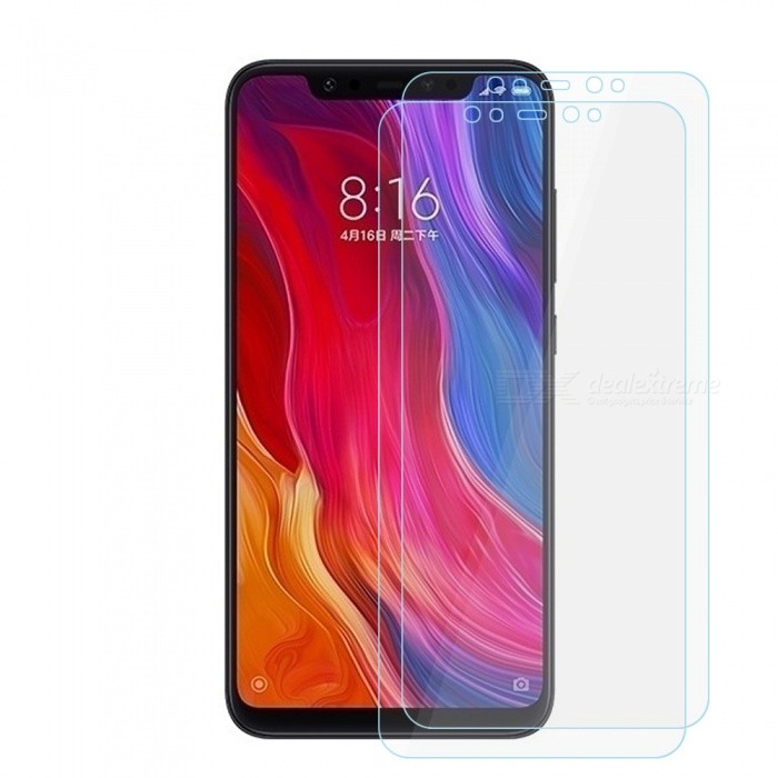 Dx coupon: 0.2mm 9H Hardness Tempered Glass Screen Protectors for Xiaomi Mi 8