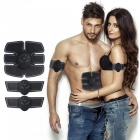 Training-Abdominal-Posts-Fitness-Equipment-Men-And-Women-Available-Abdominal-Massager-(AAA-Battery-Not-Included)-Black