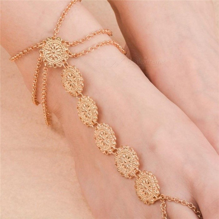 Hot Sale Summer Foot Jewelry Beach Wedding Barefoot Sandal Anklet Bracelet For Women By Scientific Process Anklets Fashion Jewelry