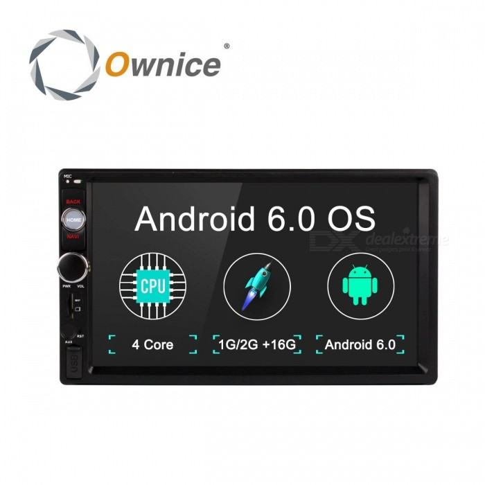 Ownice G10 Android 6.0 GPS Navigation 1G RAM DVD 2 Din Car Radio BT USB for Universal  Player Support 4G