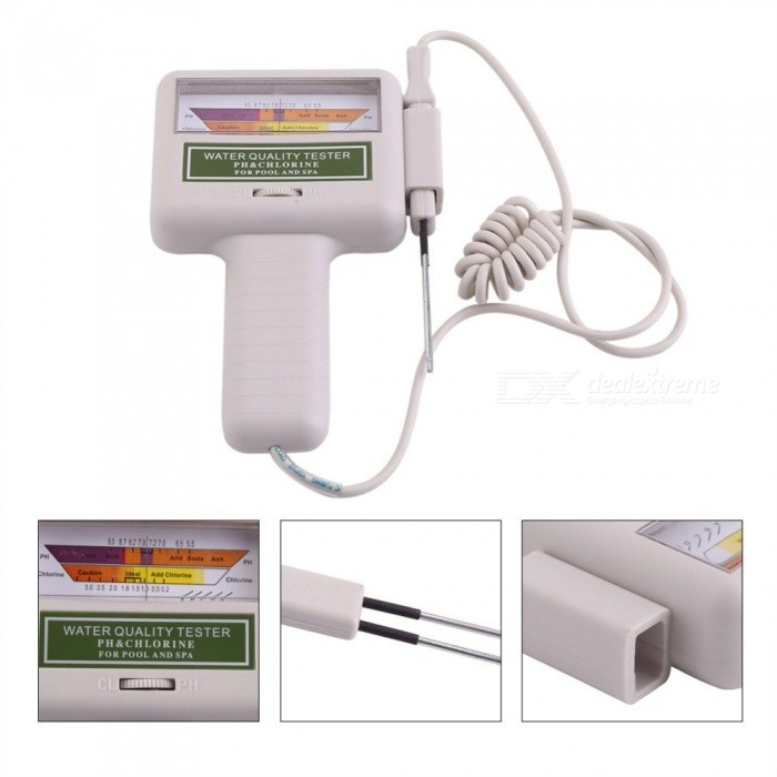 Home Automation Pc101 Ph Cl2 Chlorine Tester Digital