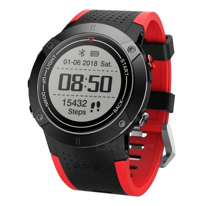 Buy DM18 GPS Smart Watch IP68 Waterproof Swimming Continuous with Heart Rate Monitor with Litecoins with Free Shipping on Gipsybee.com