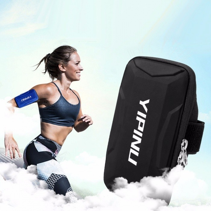 YIPINU Arm Tas Anti Slip Multifunctionele Arm Pakket Running Mobiel Arm Pakket Buitensporten Sporttas