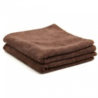CARKING-2pcs-300gsm-65-x-33cm-Coffee-Water-Absorbing-Microfiber-Car-Body-Cleaning-Towels-Coffee