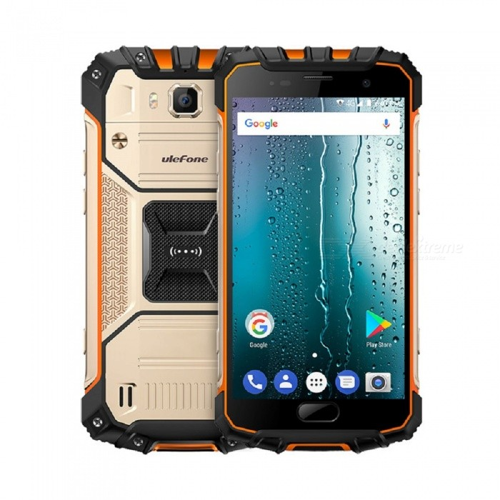 Ulefone Armor 2S Android 7.0 Waterproof IP68 5.0'' MT6737T FHD Type-C 4G Phone w/ 2GB RAM /16GB ROM - Gold (US Version)