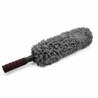 CARKING-Plastic-Retractable-Hand-Grip-Microfiber-Car-Duster-Waxing-Brush-Gray