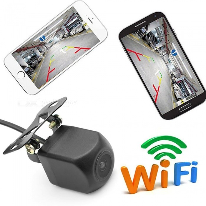 ESAMACT WIFI Reversing Camera Dash Cam Star Night Vision Car Rear View Camera Body Water-proof Tachograph for iPhone and Android