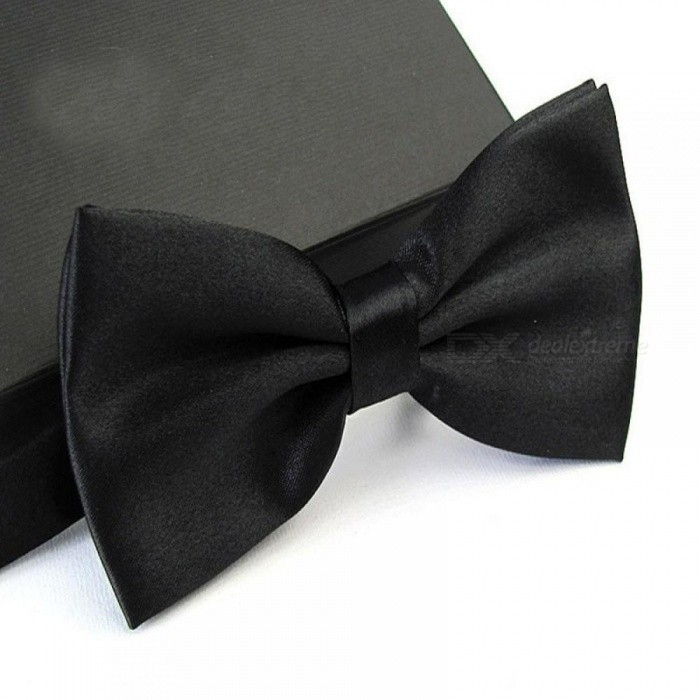 12cm x 6cm Men's Fashion Tuxedo Bowtie Butterfly Bow Ties for Men Wedding Party Polyester Wedding Party Bowtie