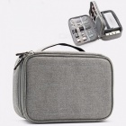Double-Layer-Travel-Storage-Bag-Kit-Data-Cable-U-Disk-Power-Bank-Electronic-Accessories-Digital-Gadget-Devices-Organizer-Dark-Gray
