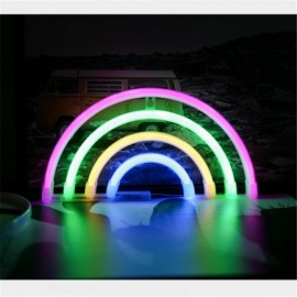 LED LOVE Neon Lights Modeling Night Lights Wall Bedroom Decoration Lamp AA Battery Photo Birthday Decoration Light Red/Clear/0-5W