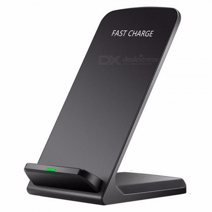Stylish Qi Wireless Charger Quick Charge Charging Pad Holder Stand For Smartphones