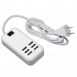 6-Port-Usb-Socket-Usb-Charger-Mobile-Phone-Charger-Multi-Port-Smart-Usb-Fast-Charge-EU-Plug-US-Plug
