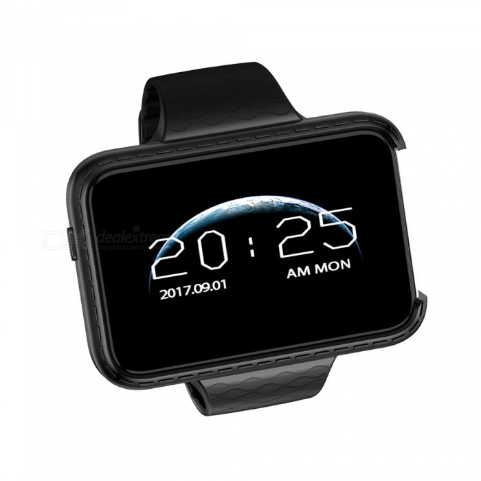 Smart Watch Phone Rectangle 2.2 inch Colorful Large Screen Mini Car Wide-angle Video Recorder Pedometer