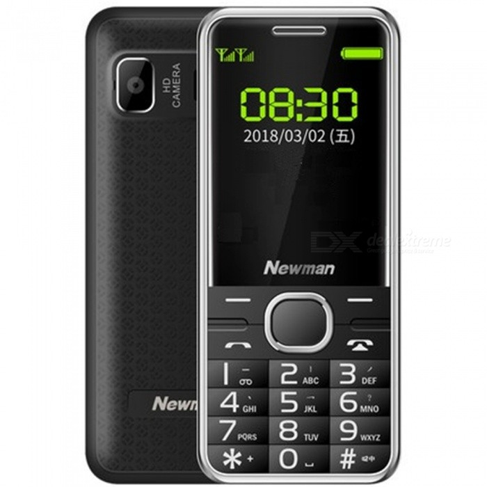 Newman M560 2.4inch LED Dual SIM Dual Standby Mobile Phone