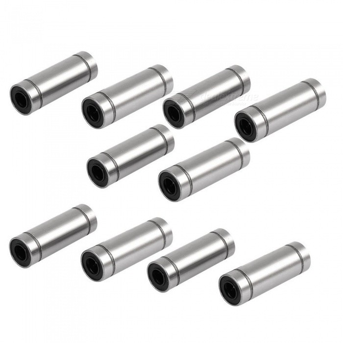 BTOOMET-LM6LUU-6mmx12mmx35mm-Linear-Motion-Bushing-Ball-Bearings-Silver-6pcs