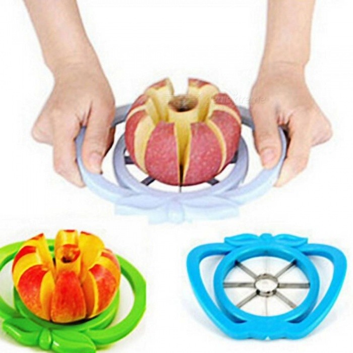Buy Kitchen Apple Slicer Corer Cutter Pear Fruit Divider Tool Comfort Handle for  Kitchen Apple Peeler    Random with Litecoins with Free Shipping on Gipsybee.com