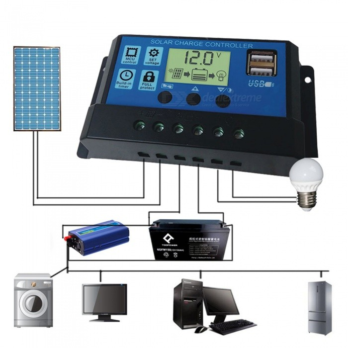Solar-Controller-USB-Mobile-Phone-Charger-Power-Generation-Solar-Panel-Power-Controller-Charger-Home-Outdoor