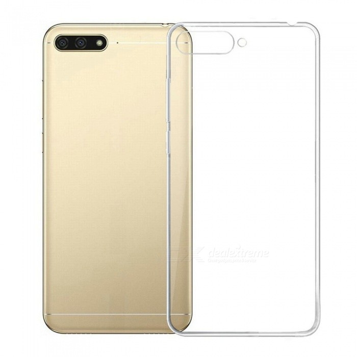 Naxtop TPU Ultra-thin Soft case for Huawei Y6 (2018) - Transparent